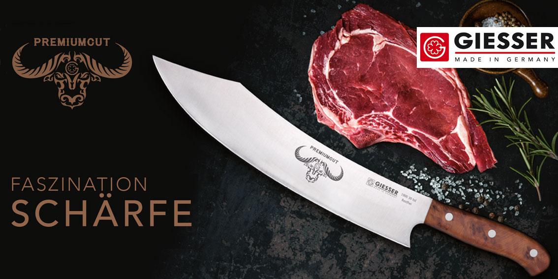 PremiumCut - die neue Messerserie von Giesser